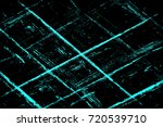 color grunge turquoise... | Shutterstock . vector #720539710