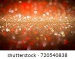 christmas bokeh background ...   Shutterstock . vector #720540838
