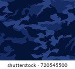 camouflage seamless pattern   Shutterstock .eps vector #720545500