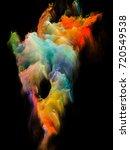 island in the void series....   Shutterstock . vector #720549538