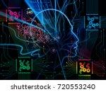 computing machine series.... | Shutterstock . vector #720553240