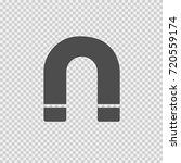 horseshoe vector icon eps 10.... | Shutterstock .eps vector #720559174