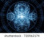 numeric connection series.... | Shutterstock . vector #720562174