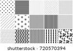 Seamless Pattern Vector Black...