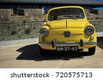 vintage classic italian car... | Shutterstock . vector #720575713