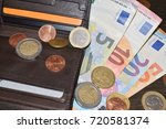 Leather Wallet With Various...