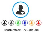 love heart guy rounded icon....   Shutterstock .eps vector #720585208