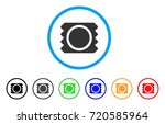 condom package rounded icon....   Shutterstock .eps vector #720585964