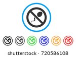 contraception rounded icon....   Shutterstock .eps vector #720586108
