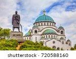 monument to karadjordje... | Shutterstock . vector #720588160