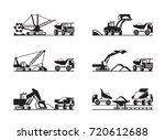 extraction and transmission of... | Shutterstock .eps vector #720612688