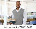 mid adult man portrait. gray... | Shutterstock . vector #720616438