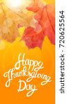 happy thanksgiving day... | Shutterstock .eps vector #720625564