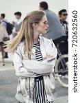 milan  italy   september 23 ... | Shutterstock . vector #720632560