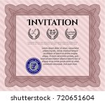 red invitation. nice design....   Shutterstock .eps vector #720651604