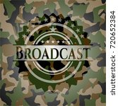 broadcast on camo pattern