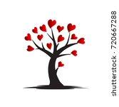 love tree logo   Shutterstock .eps vector #720667288