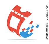icon logo   illustration for... | Shutterstock .eps vector #720686734