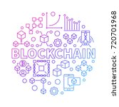 Blockchain Technology Colorful...
