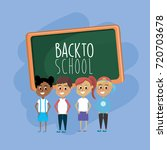 students knowledge to education ... | Shutterstock .eps vector #720703678
