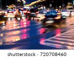 cars driving in high speed on...   Shutterstock . vector #720708460