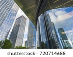 window glass  modern... | Shutterstock . vector #720714688