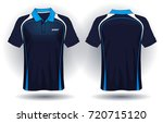 t shirt polo design | Shutterstock .eps vector #720715120