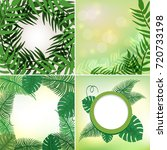 four different frames with...   Shutterstock .eps vector #720733198