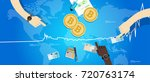 bitcoin price market value... | Shutterstock .eps vector #720763174