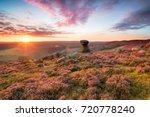 the salt cellar  a weathered... | Shutterstock . vector #720778240