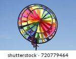 multicolored windspell  wind...   Shutterstock . vector #720779464