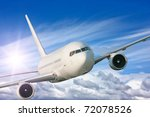 Large Passenger Plane Flying I...