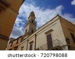 puglia  lecce  baroque... | Shutterstock . vector #720798088