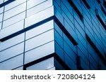 detail glass building... | Shutterstock . vector #720804124