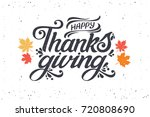 vector illustration. happy... | Shutterstock .eps vector #720808690