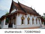wat amphawan chetiyaram   samut ... | Shutterstock . vector #720809860
