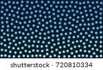 blue snowflakes. blue stars.... | Shutterstock .eps vector #720810334