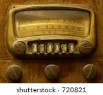 vintage radio | Shutterstock . vector #720821