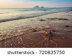 sunrise on the beach near hua... | Shutterstock . vector #720835750