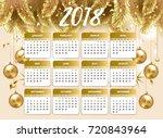 2018 happy new year design...   Shutterstock .eps vector #720843964