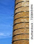 old architecture chimney | Shutterstock . vector #720845494