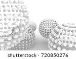 spheres  modern style soft... | Shutterstock . vector #720850276
