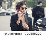milan  italy   september 23 ... | Shutterstock . vector #720855220
