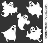 ghost  the ghost icon ... | Shutterstock .eps vector #720868984