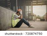 engineering supervisor is very... | Shutterstock . vector #720874750