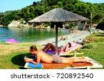 skiathos  greece. september 11  ... | Shutterstock . vector #720892540