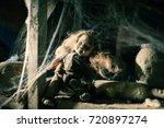 dead doll | Shutterstock . vector #720897274