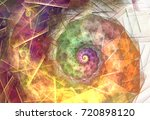 abstract fractal patterns and... | Shutterstock . vector #720898120