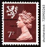 united kingdom   circa 1978  a...   Shutterstock . vector #720902263
