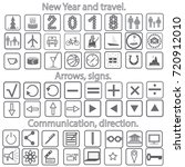 Set Icons Tree  Cake  People ...